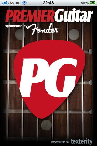 Premier Guitar iPhone App