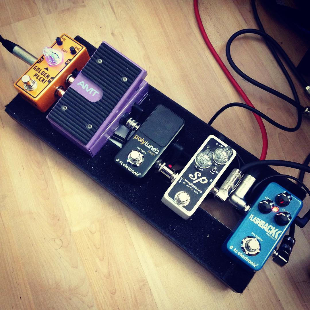 New board layout for upcoming Russian gig