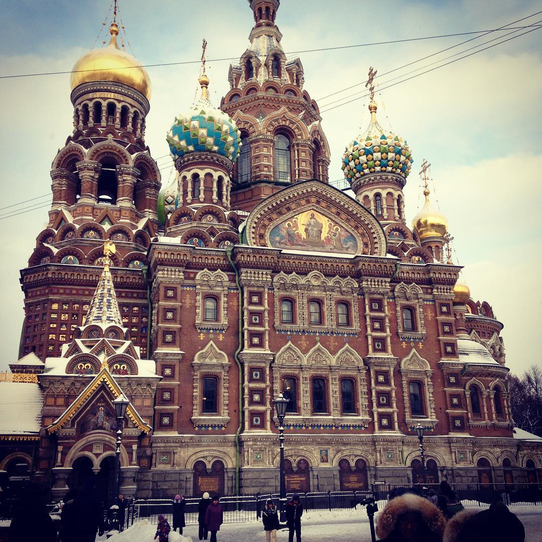 St Petersburg. Beautiful city. Had a blast playing there with @teannaich